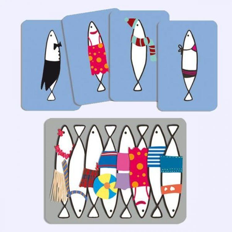 Sardines jeu de cartes Djeco DJECO DJ05161 : La Coccinelle & Co