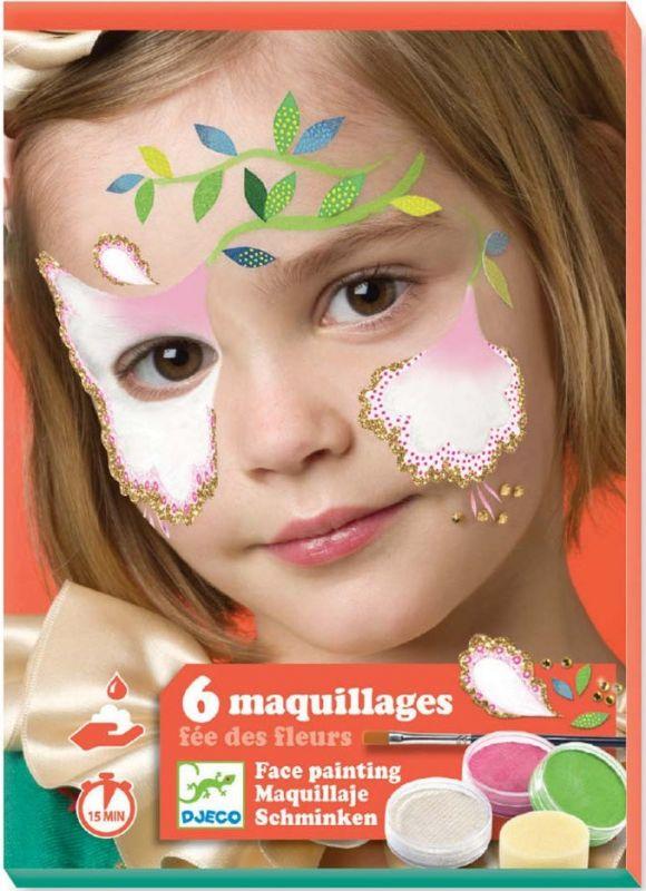 Coffret De Maquillage Fée Des Fleurs Djeco Dj09204 Jeux De Nim