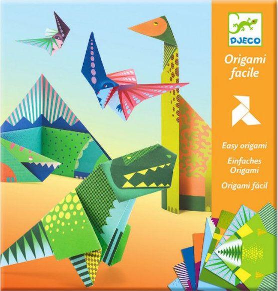 Origami Facile Dinosaures Djeco Dj08758 Jeux De Nim