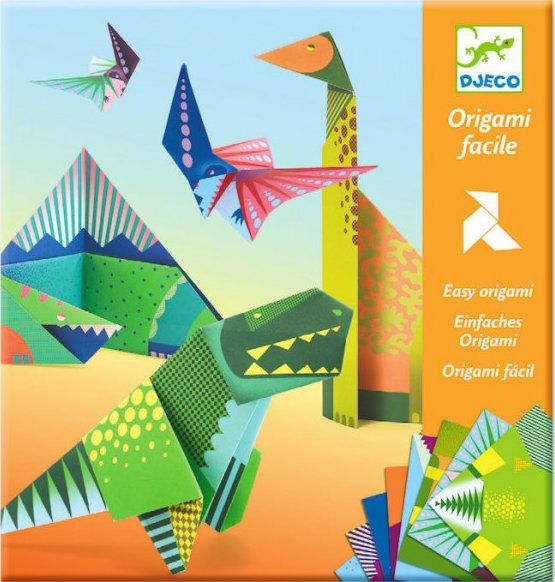 Origami Facile Dinosaures Djeco