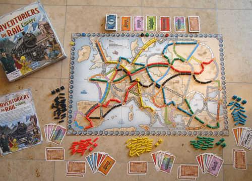 Carte De Leurope Jeux Educatifs.Les Aventuriers Du Rail Europe Jeu De Societe Chez Jeux De Nim