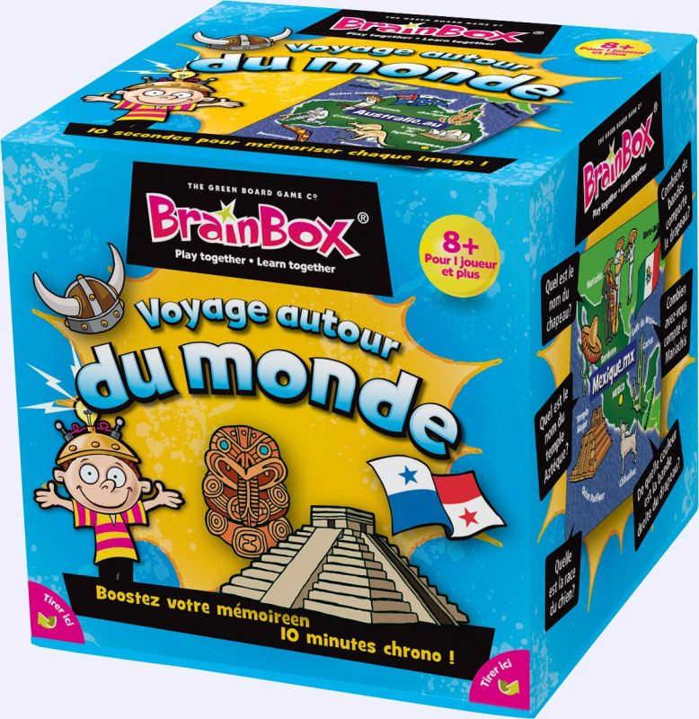 Brainbox voyage autour du monde jeu de soci t chez for Decoration voyage autour du monde