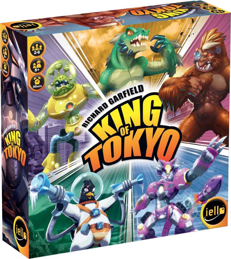 """Résultat de recherche d'images pour """"jeu king of tokyo"""""""