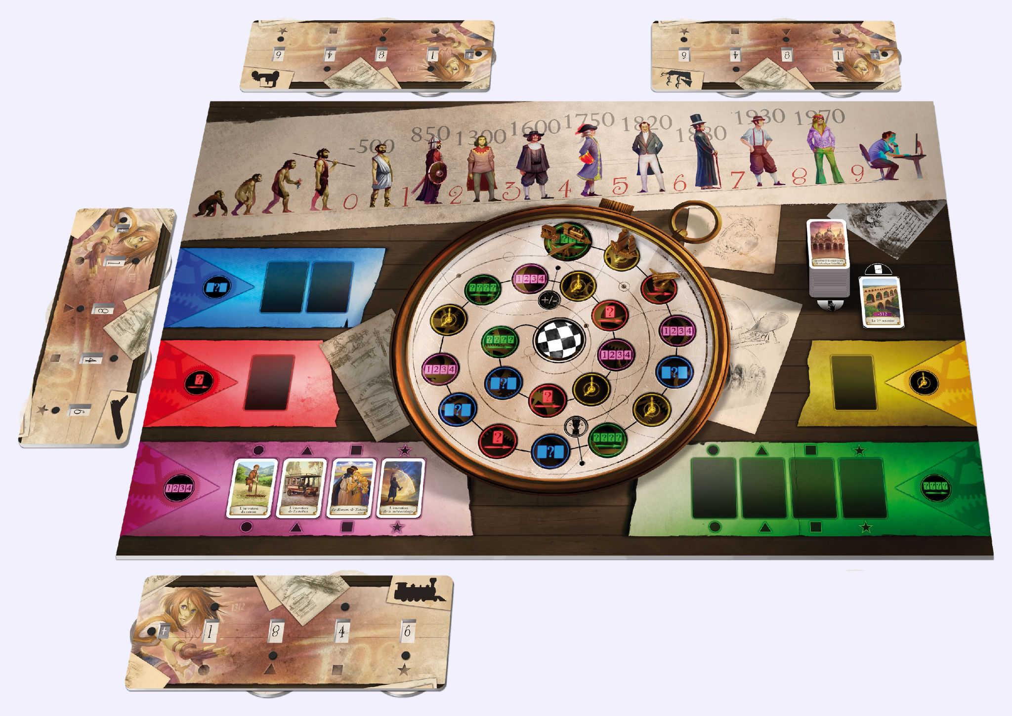 timeline challenge jeu de soci t chez jeux de nim. Black Bedroom Furniture Sets. Home Design Ideas